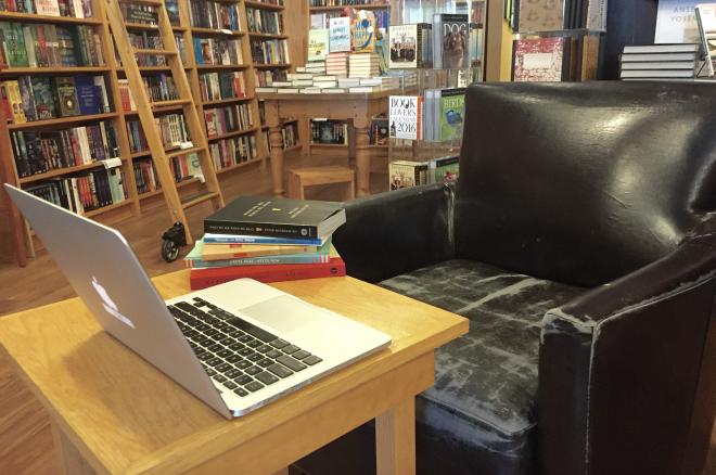 blogging station
