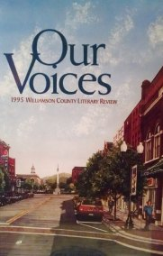 """""""The Voice in the Woods"""" by Gary Frazier, Our Voices: 1995 Williamson County Literary Review"""