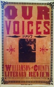 """""""The Gnawing"""" by Gary Frazier, Our Voices: 1997 Williamson County Literary Review"""